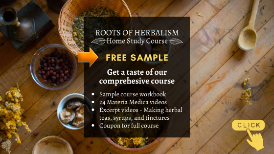 Roots of Herbalism Free Sample Class